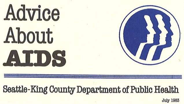 Front of fold-out wallet-card, 1983. [Series 10, Director's city/county division files, Seattle-King County Department of Public Health. Item 10-11-7-7]